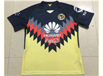 Club América 2017/18 Home Yellow Soccer Jersey