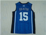 NCAA Duke Blue Devils #15 Jahlil Okafor Blue College Basketball Jersey
