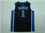 NCAA Duke Blue Devils #1 Jabari Parker Black College Basketball Jersey