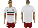 Mexico 2018 World Cup Away White Soccer Jersey