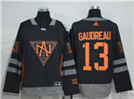 Team North America 2016 World Cup #13 Johnny Gaudreau Black Jersey