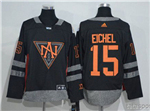 Team North America 2016 World Cup #15 Jack Eichel Black Jersey
