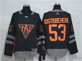 Team North America 2016 World Cup #53 Shayne Gostisbehere Black Jersey