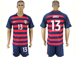 USA 2017 Gold Cup Soccer Jersey with #13 Jones Printing