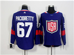 Team USA 2016 World Cup #67 Max Pacioretty Navy Blue Jersey