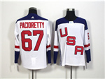 Team USA 2016 World Cup #67 Max Pacioretty White Jersey