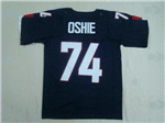 Team USA 2014 Sochi Winter Olympic #74 T. J. Oshie Navy Blue Jersey