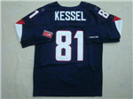Team USA 2014 Sochi Winter Olympic #81 Phil Kessel Navy Blue Jersey
