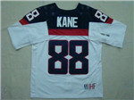 Team USA 2014 Sochi Winter Olympic #88 Patrick Kane White Jersey