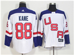 Team USA 2016 World Cup #88 Patrick Kane White Jersey