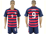 USA 2017 Gold Cup Soccer Jersey with #9 Zardes Printing