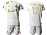 Atlanta United FC 2020/21 Away White Pinstripe Soccer Jersey with #12 Robinson Printing