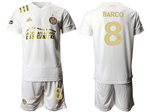 Atlanta United FC 2020/21 Away White Pinstripe Soccer Jersey with #8 Barco Printing
