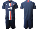 Paris Saint-Germain F.C. 2019/20 Youth Home Navy Soccer Jersey