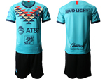 Club América 2019/20 Third Away Turquoise Soccer Team Jersey