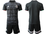 Mexico 2019/20 Youth Home Black Soccer Team Jersey